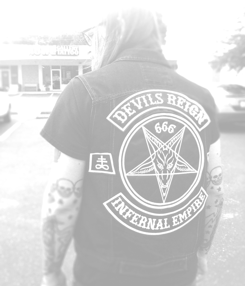 Devils Reign Back Patch Set