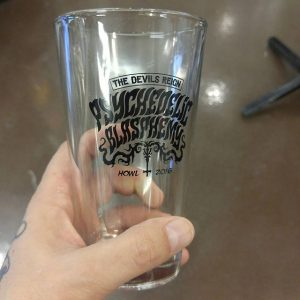 Psychedelic Blasphemy Pint Glass