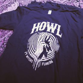 HOWL T-SHIRT DEVIL SHADOW PUPPET