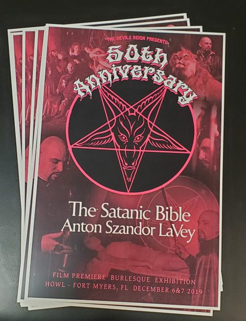 Satanic bible 50th anniversary